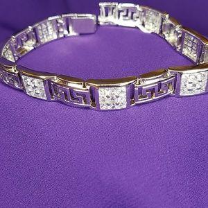 Men's Greek key Bracelet